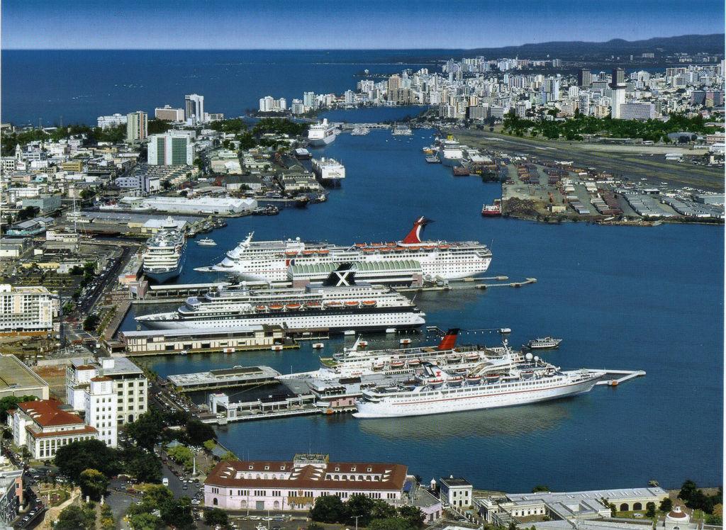 Crucero desde San Juan de Puerto Rico