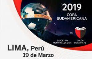 Sudamericana Colon en Lima