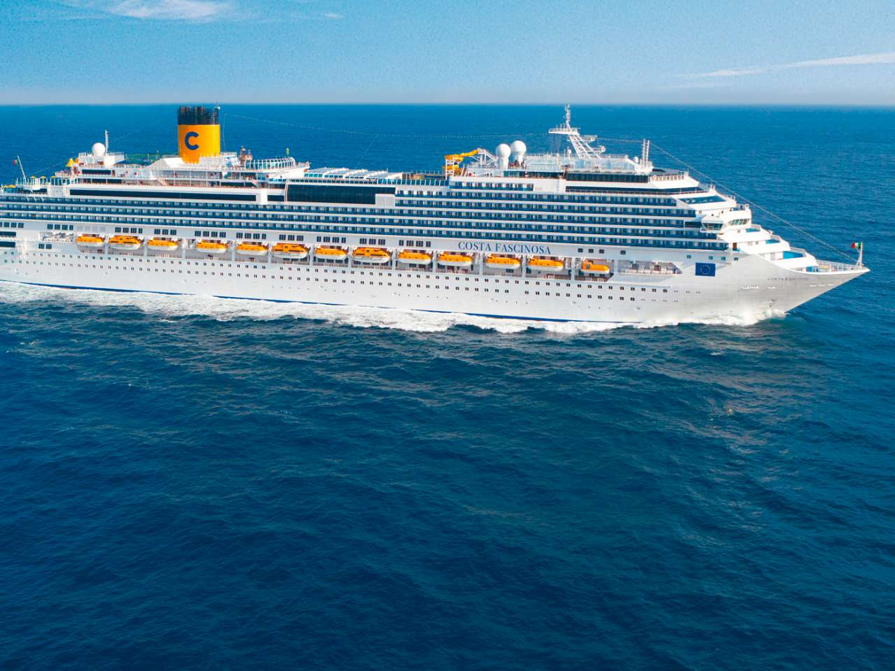 Crucero Costa Favolosa por el Caribe